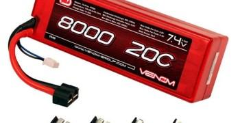 LiPo Venom 8000mah 2S 20C con carcasa rigida