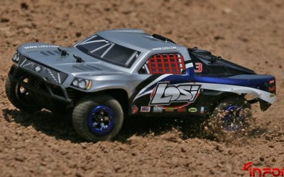 Losi micro BL 2.4ghz Rally car y Short Course