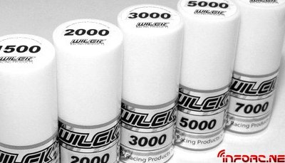 Siliconas para diferenciales y amortiguadores de Wilck Racing