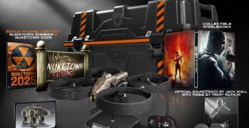 Call of Duty Black Ops II, edicion especial con cuadracoptero incluido