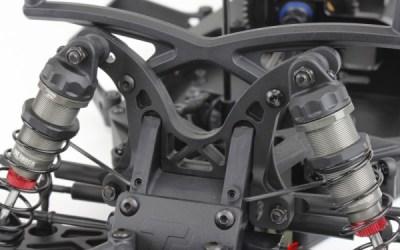 Set de mariposas de composite para el Team Durango DESC410