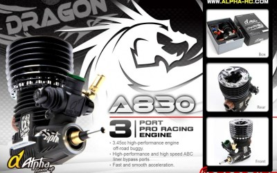 Nuevo Alpha DRAGON A830, un autentico 3 puertos de competicion