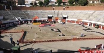1ª Exhibición de coches de radiocontrol 1/8TT en la plaza de toros de Arenas de San Pedro, Ávila