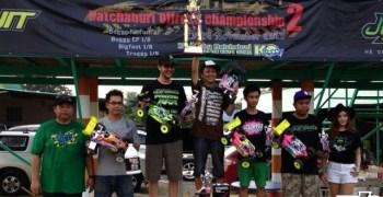 Atsushi Hara gana la prueba de Rachaburi perteneciente al JQ Tour