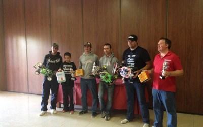 Podio del Campeonato Nacional de Resistencia 1/8 TT Gas