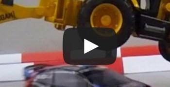 Video de los Viernes: Gymkhana de Ken Block a escala