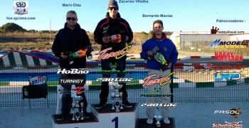 Resultados de la cuarta prueba 1/8 TT e del Club El Estrecho