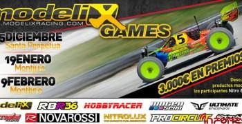 Modelix Games, inscripciones abiertas y cambio de fecha en una prueba