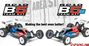Team Associated presenta el nuevo RC10 B5 Team Kit y Team Kit M