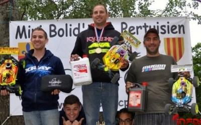 Jerome Aigoin gana la tercera prueba del Nacional de Francia 1/8 TT Gas