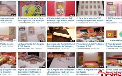 Teknipron TKP sigue añadiendo vídeos a su canal de Youtube