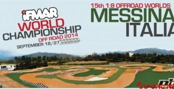 Mundial 1/8 TT Gas 2014 en Messina; algunos detalles