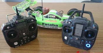 Fotos del prototipo de la nueva Futaba 4GRS