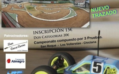 Segunda prueba del Provincial de Cádiz 1/10 2WD y 4WD