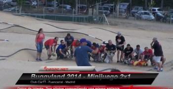 Video: Minijuego 2x1 en Buggyland 2014. Dos pilotos, una emisora.