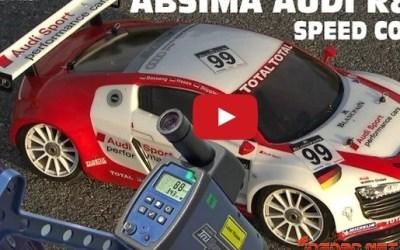 Video: Absima Audi R8 y su velocidad en un radar