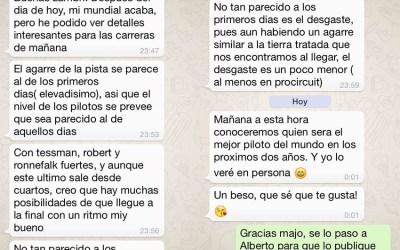 Mundial 1/8 2014 - Reflexiones de Agustín Illanes sobre el circuito