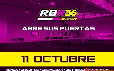 El RBR36 Arena ya tiene fecha de inauguración ¡¡11 de Octubre!!