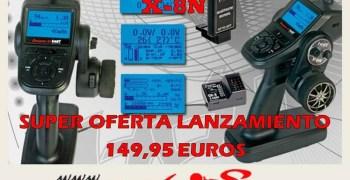 Hobbymacias: Oferta de lanzamiento emisora Graupner X-8N