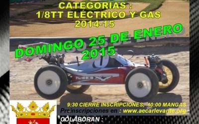 Este finde: Quinta prueba del Cto Provincial de Automodelismo Castellón 1/8 TT Gas