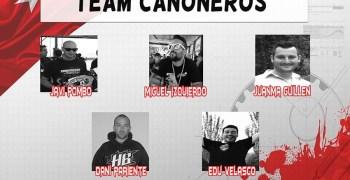 Team Cañoneros lidera el Campeonato Regional Madrid