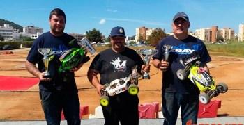 Marco Antonio y su Radiosistemi RR8, ganan en Ibiza