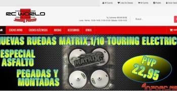 RCWorld: Nuevas Matrix 1/10 touring pegadas