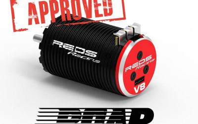 Los motores brushless de REDS, homologados por ROAR