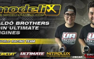 Se confirma el fichaje de los hermanos Baldó con Ultimate Engines
