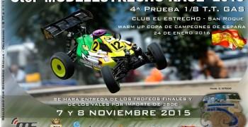 Este Domingo - Cuarta prueba del Campeonato Modelestrecho 1/8 TT Gas 2015