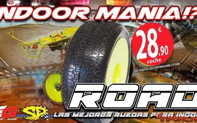 Showgame, distribuidor oficial de SP Tires para España, presenta las Road, ideales para indoor