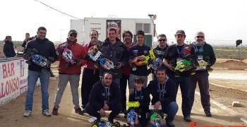Resumen - Primera prueba regional de Extremadura 1/8 TT Gas