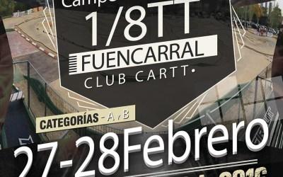 27-28 de Febrero - Comienza el Campeonato regional de Madrid 1/8 TT Gas 2016