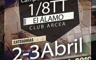 2 y 3 de Abril - Segunda prueba del Campeonato de Madrid 1/8 TT en El Álamo