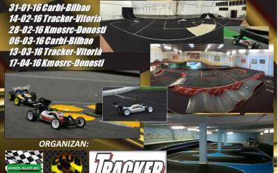 Este Domingo - Quinta prueba del Primer Campeonato Euskadi 1/10 Indoor en Tracker