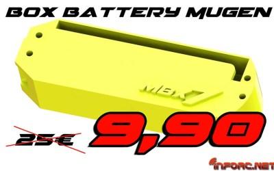 Oferta - Caja de baterías para Mugen MBX7 en Showgame Shop