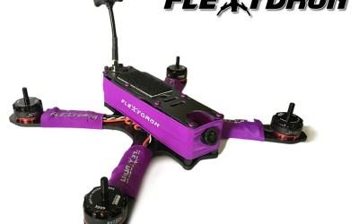 FlexyDron, lo nuevo de FlexyTub para los amantes de los drones de carreras
