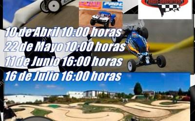 22 de Mayo - 2ª Prueba Cto. Ciudad de Miranda 1/10 Buggys y short course