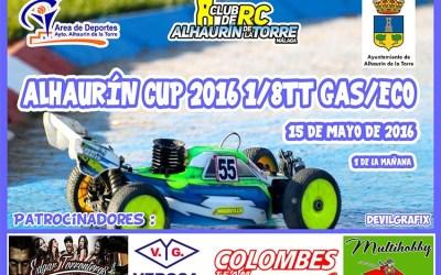 15 de Mayo - Alhaurín Cup 1/8 TT Nitro y Eco