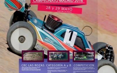 28 y 29 de Mayo - tercera prueba puntuable del Campeonato de Madrid 1/8TT