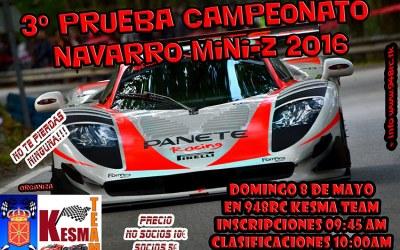 8 de Mayo - Tercera prueba del Campeonato Navarro de MiniZ