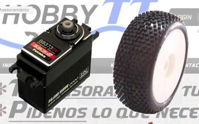 Hobby TT - Servos Futaba 9373 y gama SP Tires en catálogo