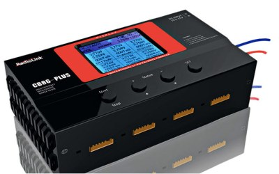SLS Spain - Cargador Radiolink CB-86 PLUS 8 SALIDAS