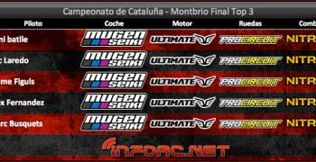 Cronica - Dani Batlle se alza vencedor en el Campeonato 1/8 TT Gas de Cataluña
