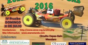 31 de julio - Cuarta carrera del Campeonato de Euskadi 1/8 TT gas 2016
