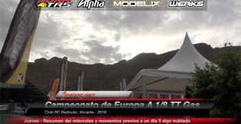 Video - Euros A 1/8 Off Road, momentos previos al comienzo de un día 3 algo nublado