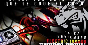 Guadalcacin Electric Indoor 2016, corrección de fecha. 26 y 27 de Noviembre