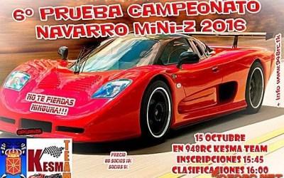 15 de Octubre - Sexta Carrera campeonato Navarro de Miniz