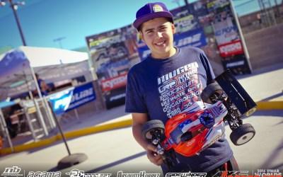 Davide Ongaro, el piloto más rápido hasta el momento. Video de unas vueltas con el joven italiano