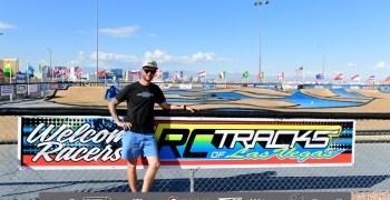 Lee Martin, ganador de la carrera pre mundial en Las Vegas